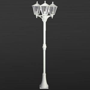 Albert Leuchten Venkovské stožárové světlo 680, 3 zdroje, bílá