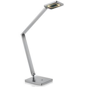 Knapstein LED stolní lampa Space s dotykovým stmívačem nikl
