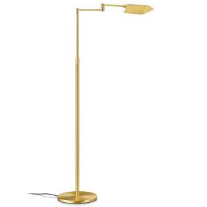 Knapstein Gesty ovladatelná LED stojací lampa Dream, mosaz