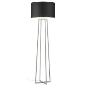 Knapstein Stmívatelná stojací lampa Hermes, stínidlo chintz