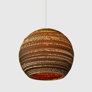 Graypants Ball - kulaté závěsné světlo, karton, 36 cm