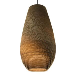 Graypants Drop - závěsné světlo, karton, 36 cm