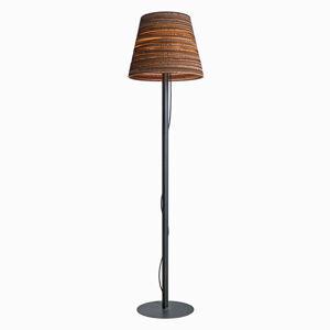 Graypants Stojací lampa s kartonovým stínidlem - Tilt