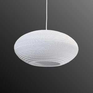 Graypants Závěsné světlo Disc bílá Ø 43 cm