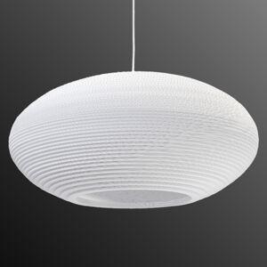 Graypants Závěsné světlo Disc bílá Ø 61 cm