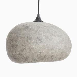 AY ILLUMINATE Závěsné světlo Pebble medium za kartonu, šedá