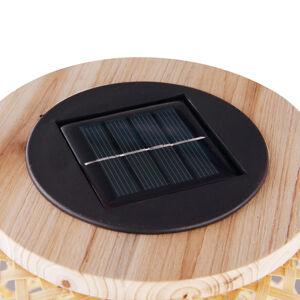 Globo LED solární světlo 33671 lucerna z bambusu