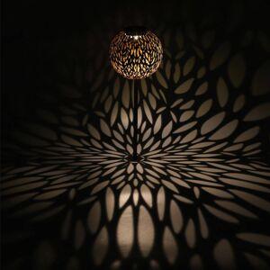 Globo LED solární dekorační světlo 33626R hrot, rezavá