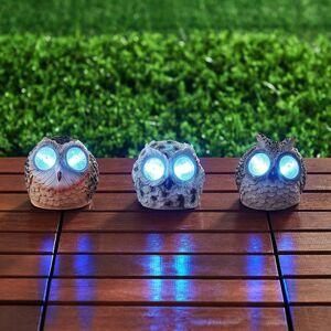 Lampenwelt.com Sada 3dekoračních solárních svítidel Albin