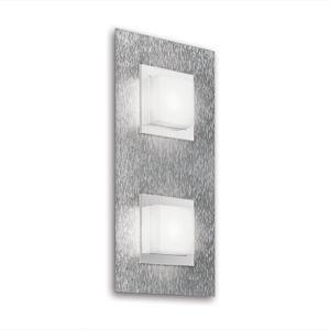 GROSSMANN GROSSMANN Basic LED nástěnné světlo, 2zdr hliník