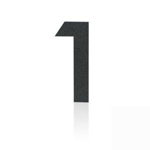 Heibi Nerezová domovní čísla číslice 1, grafit šedý