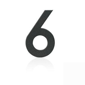 Heibi Nerezová domovní čísla číslice 6, grafit šedý