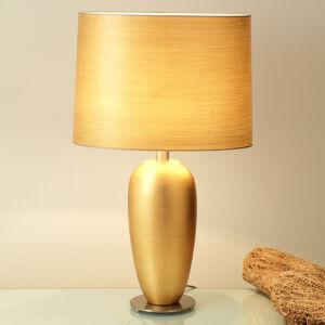 J. Holländer Klasická stolní lampa EPSILON zlatá, výška 65 cm