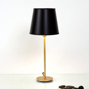 J. Holländer Stolní lampa Mattia s kulatým stínidlem v černé