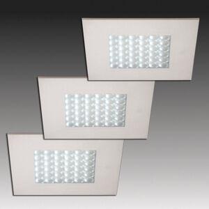 HERA Q 68 LED podhledové svítidlo, 3dílná sada