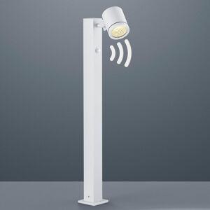 Helestra LED osvětlení cesty Part s hlásičem pohybu, bílá