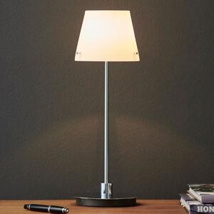 Herstal Stolní lampa Gil s opálovým skleněným stínidlem