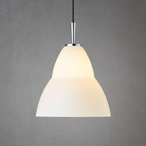 Herstal Skleněné závěsné světlo Fico M, Ø 27 cm