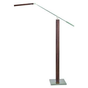 HerzBlut HerzBlut Otto O LED stojací lampa na čtení ořech