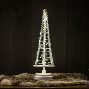 Hemsson Stromek Santa's Tree, stříbrný drát, výška 33,5 cm