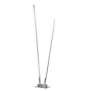 FISCHER & HONSEL LED stojací lampa Z-Carla, dva zdroje, výška 144cm