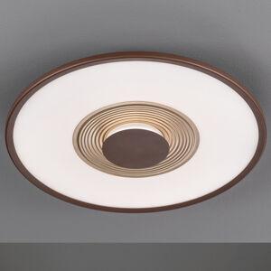 FISCHER & HONSEL LED stropní světlo Veit CCT s dálkovým ovládáním