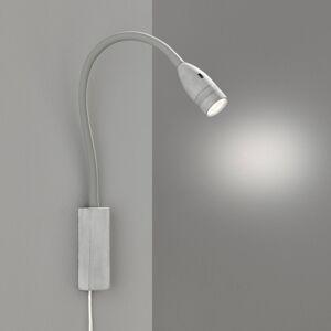 FISCHER & HONSEL LED nástěnné světlo Sten, ovládání gesty, šedé