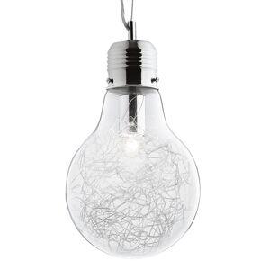 Ideallux Luce Max - závěsné světlo ve tvaru žárovky