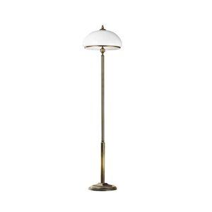 JUPITER Stojací lampa Petro se skleněným stínidlem