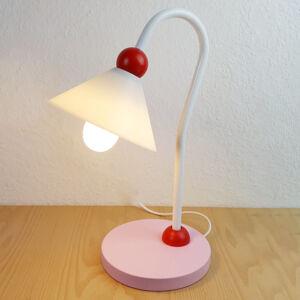 Niermann Standby Šarmantní stolní lampa na čtení Prinzessin, růžová