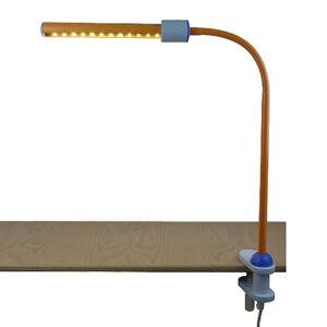 Niermann Standby Světle oranžová klipová lampa NEW GENERATION