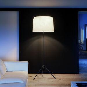 Karboxx Stojací lampa Ola sklolaminátové stínidlo, bílá