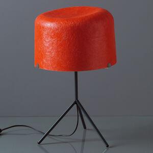 Karboxx Stolní lampa Ola skleněná vlákna červená 53cm vys