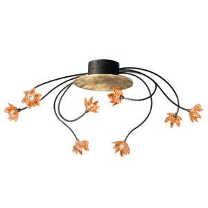 Kögl Stropní světlo Fiorella 8zdrojové jantarové