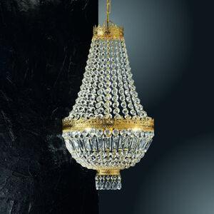 Kögl 24karátové zlacené závěsné světlo Cupola