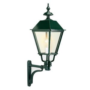 K. S. Verlichting Klasické venkovní nástěnné světlo Eemnes, zelená