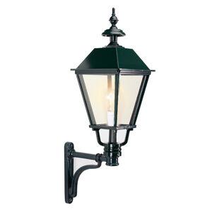 K. S. Verlichting Klasické venkovní nástěnné světlo Eemnes, černá