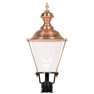 K. S. Verlichting Soklové světlo K4b měď, černá