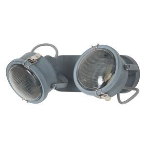 K. S. Verlichting Dvouzdrojové stropní světlo Satellite šedé
