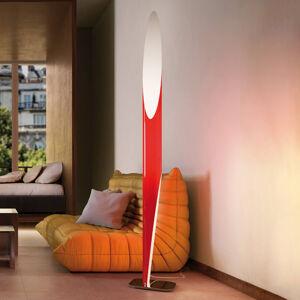 Kundalini Kundalini Shakti stojací lampa satinovaná, červená