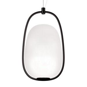 Kundalini Kundalini Lannà závěsné světlo, černé/bílé