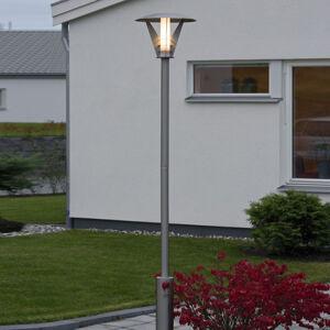 Konstmide Stožárové svítidlo LARISSA z nerez oceli, moderní
