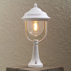 Konstmide Sloupkové svítidlo Parma, bílé