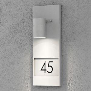 Konstmide Modena 7655, osvětlení domovního čísla, šedé