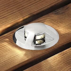 Konstmide LED podlahový reflektor Mini sada 6ks vypouklý