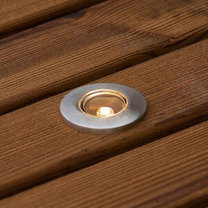 Konstmide Podlahový reflektor Mini 6ks, ocel 3,5cm, G4