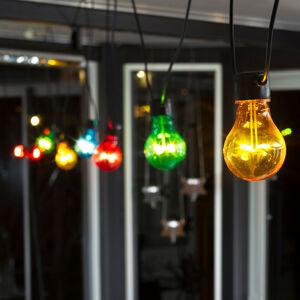 Konstmide CHRISTMAS LED světelný řetěz Biergarten, barevný
