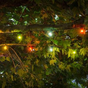 Konstmide CHRISTMAS LED světelný řetěz Biergarten rozšíření pestré