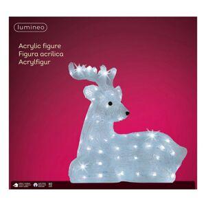 Kaemingk LED figurka jelen, ležící