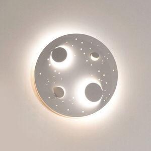 Knikerboker Knikerboker Buchi LED nástěnné světlo Ø 40cm bílé